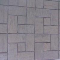 стена с рязани облицовъчни камъни