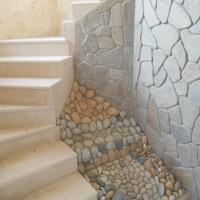 декорация с облицовъчни камъни