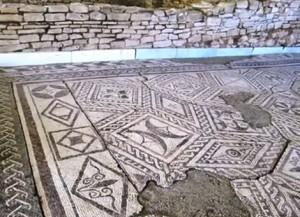 Облицовъчните камъни на вила Армира