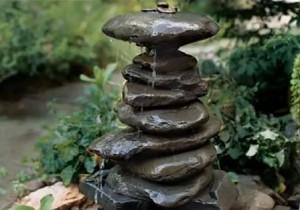 фонтан от камък