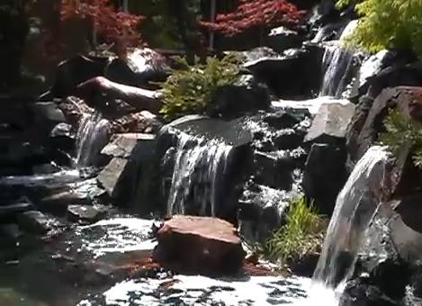 камъни за изкуствен водопад