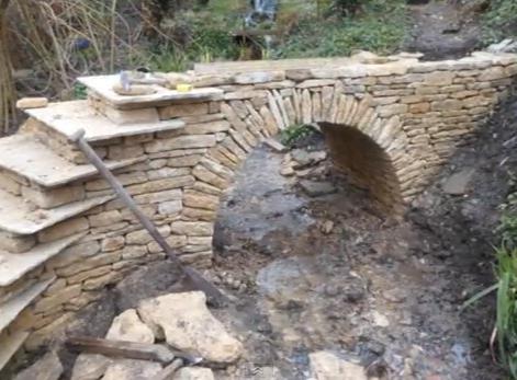 мост в градината