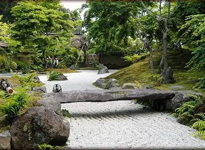камъните в японската градина