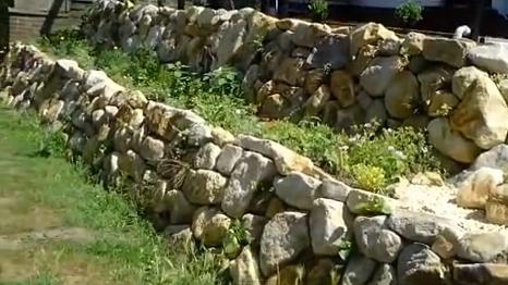 подпорна стена от зидария