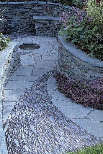 пътека то камъни