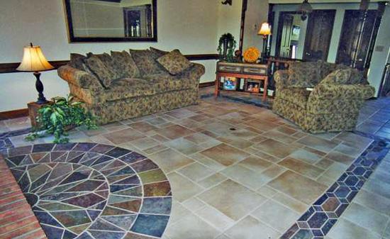 подовете с естествен камък