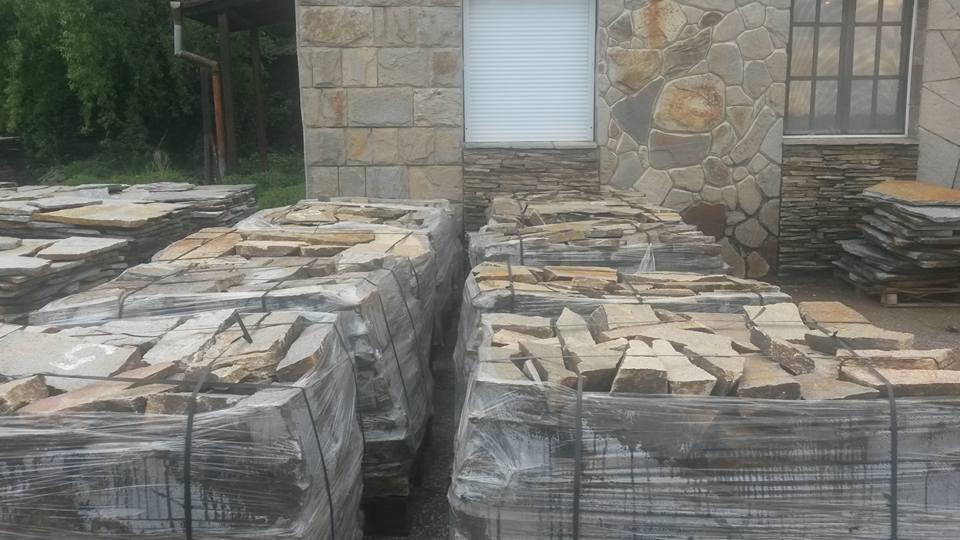Естествен камък за стена