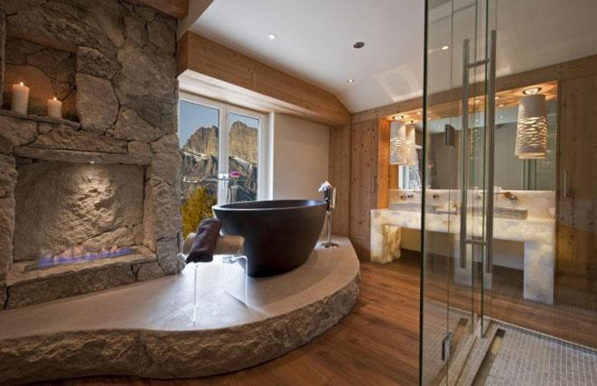 камък за баня