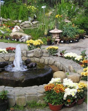 изграждане на градински фонтан