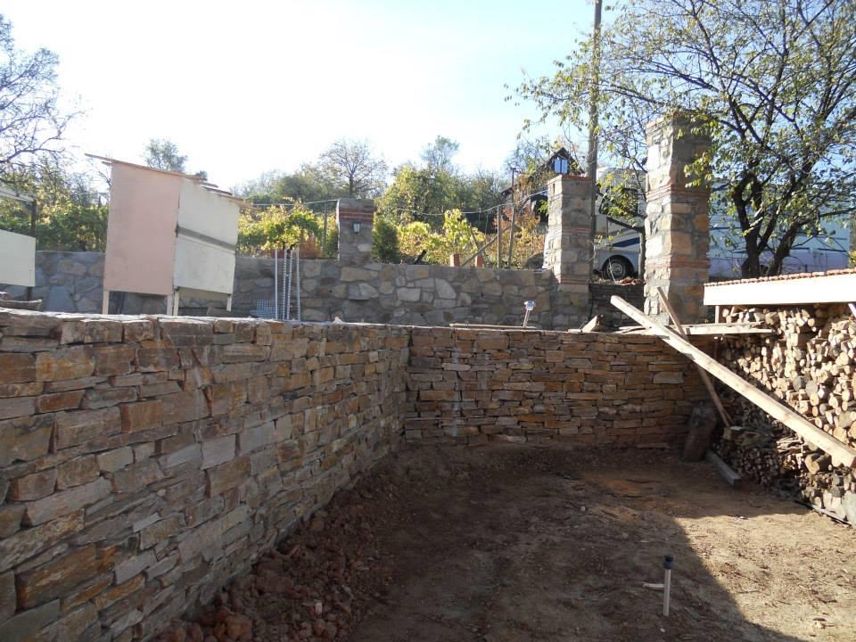 камък за терасиране на двор