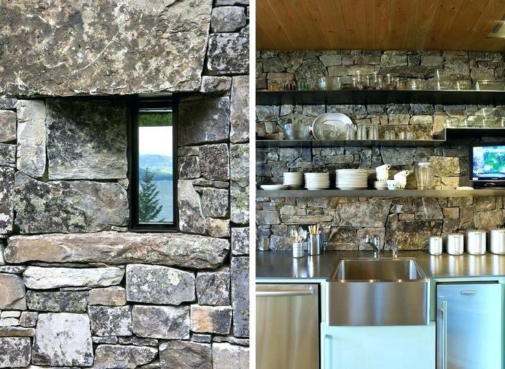 камък гнайс за стена