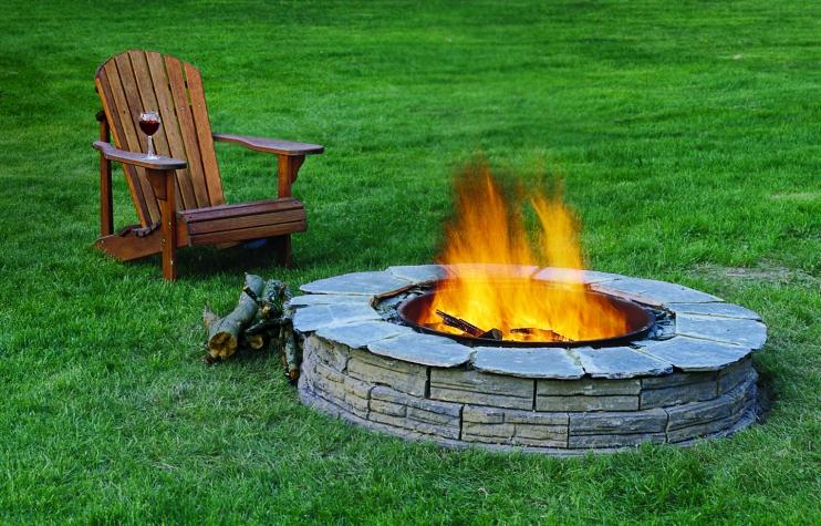 Изграждане на огнище за барбекю