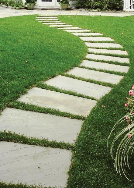 пътека от рязан гнайс