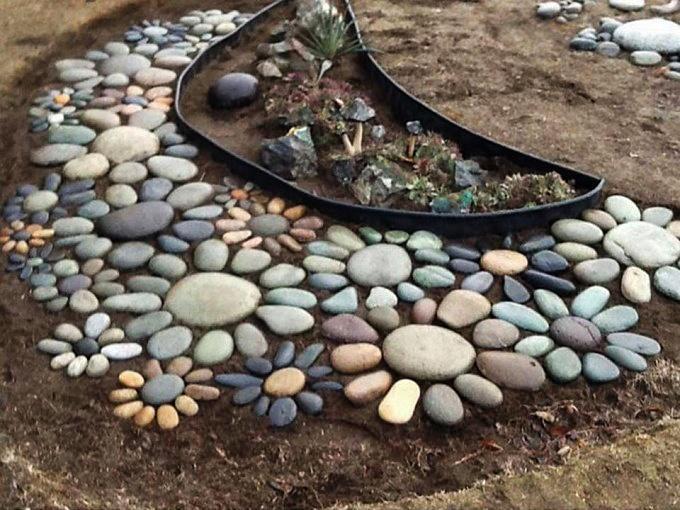 цветя от камъни