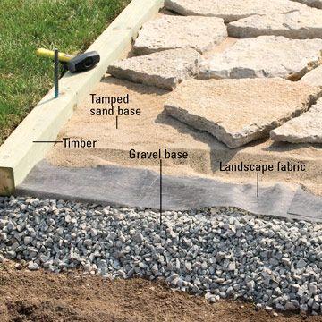 камъни за настилка от гнайс
