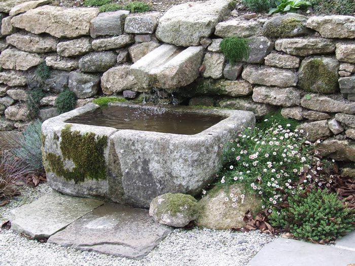Каменни корита ръчна изработка